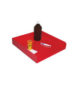 Medication tray for processing and preparation of medication