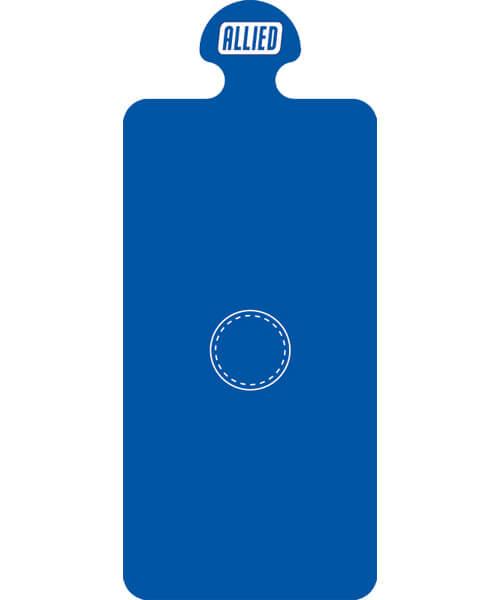 Allied blue bag port seal | Maxpert Medical