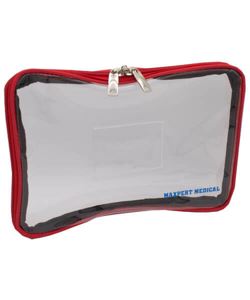 Small see through tamper evident security bag | Maxpert Medical