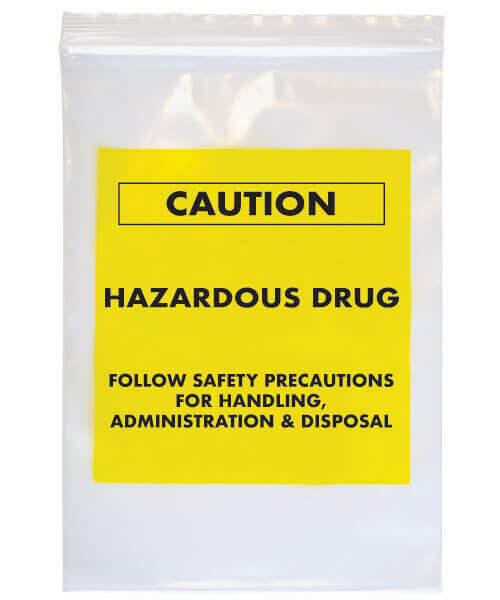 Chemo and Hazardous Drug Transport Bags