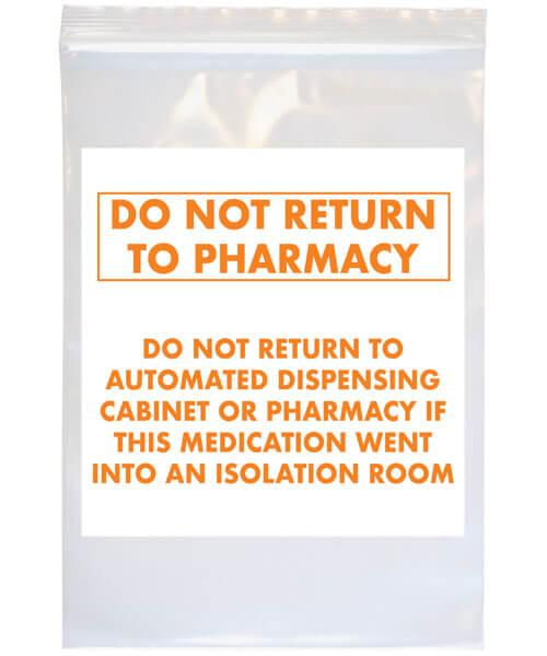Do Not Return labeled bag | Maxpert Medical
