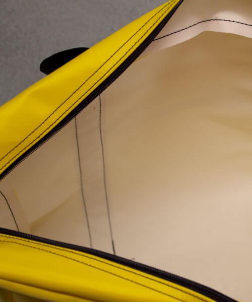 Inside view of supply bag for hazardous drug spill kits | Maxpert Medical